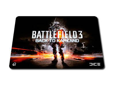QPAD CT Pro Gaming Mouse Pad BF3 Back to Karkand L.E.