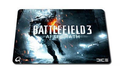 BF3 AfterMath QPAD CT Pro Gaming Mousepad